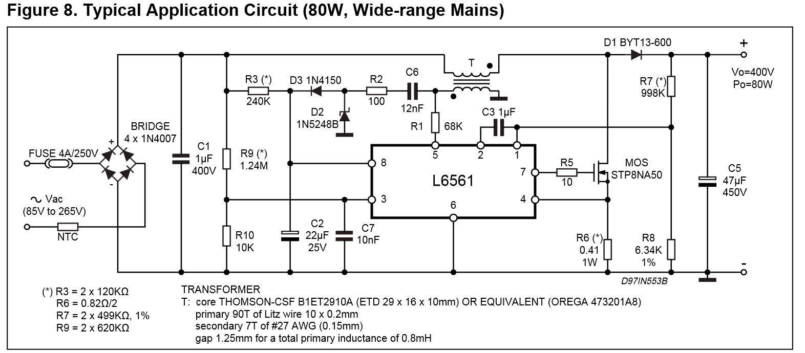 Корректор коэффициента мощности для ИБП on-line. Часть 6 - 2