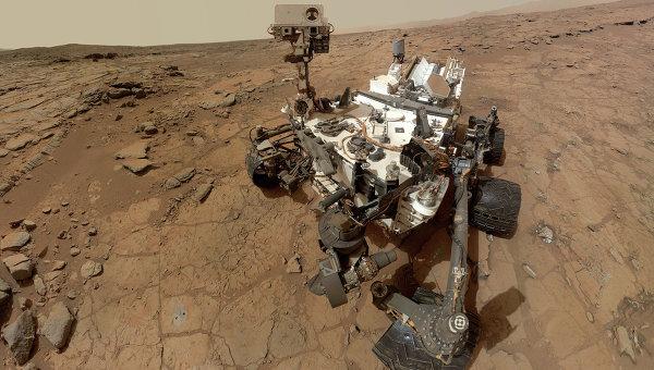 Curiosity начал обследовать дюны на Марсе - 1
