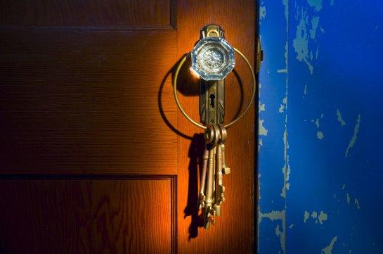 Напечатать ключ можно по фотографии замочной скважины