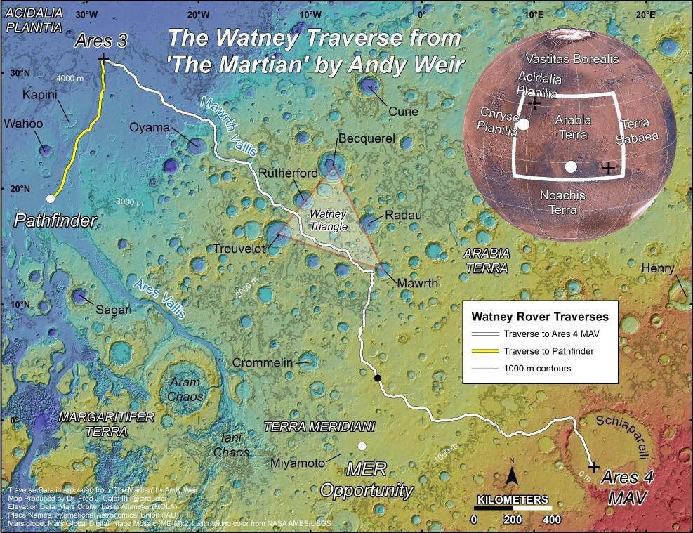 Разбор «Марсианина»: Марс, наука, политика - 16