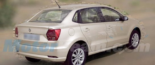 Volkswagen выпустит «обрезанную» версию Polo Sedan по очень низкой цене