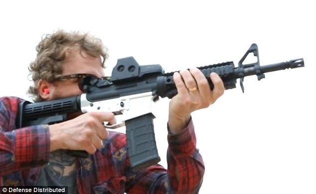 Коди Уилсон выложит 3D-файлы для печати винтовки AR-15 - 1