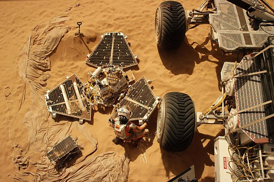 Разбор «Марсианина»: техника - 21