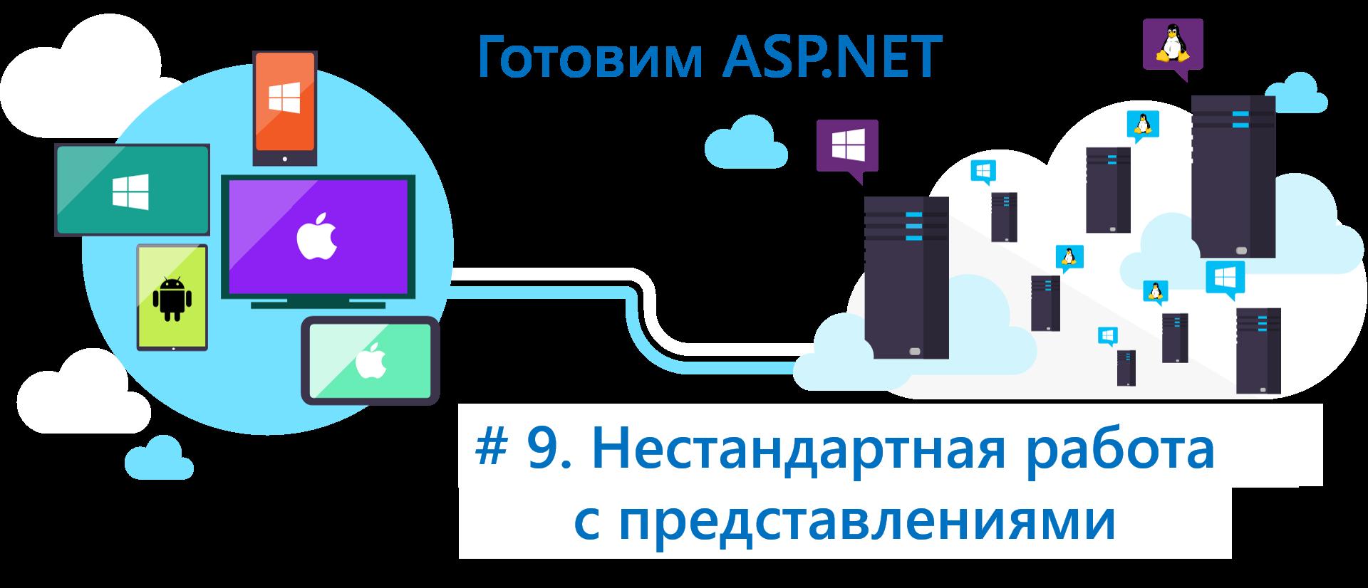 Готовим ASP.NET Core: поговорим про нестандартные подходы при работе с представлениями - 1