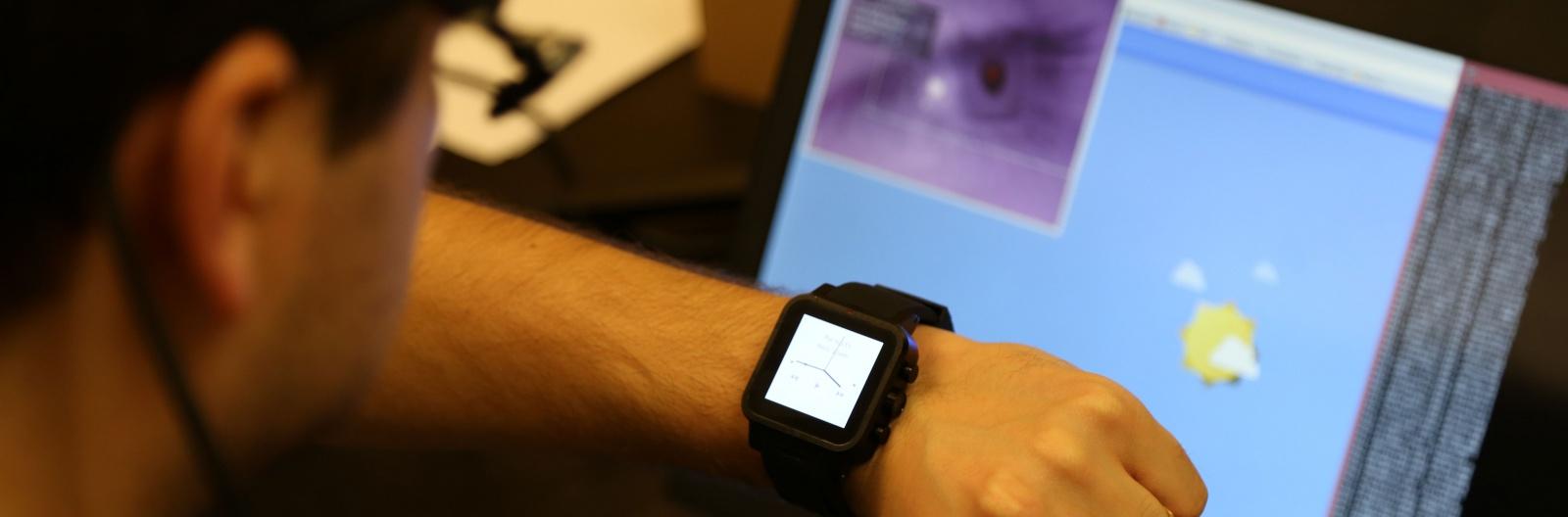 Технология Orbits для умных часов: управляем функциями устройства взглядом - 1