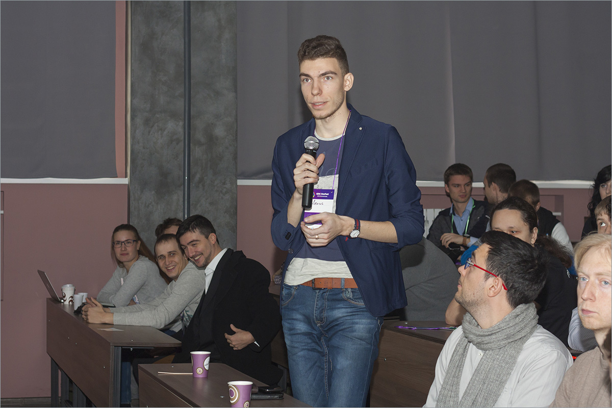DevFest Калининград-2015: фотоотчёт - 13