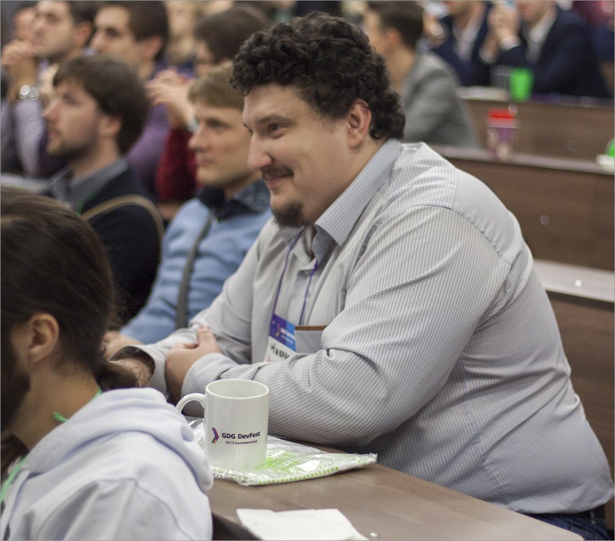 DevFest Калининград-2015: фотоотчёт - 38