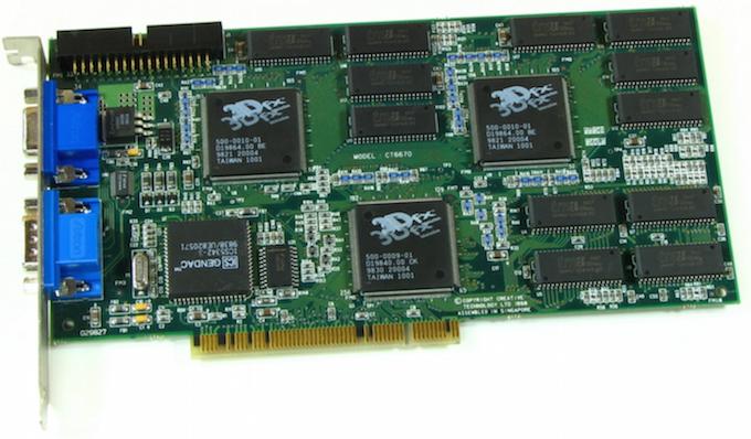 Процесс эволюции видеоадаптеров из 80-х в 2000-е - 15