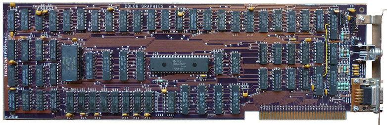 Процесс эволюции видеоадаптеров из 80-х в 2000-е - 2