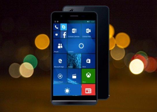 W5.5 Pro- Windows-смартфон от испанского производителя