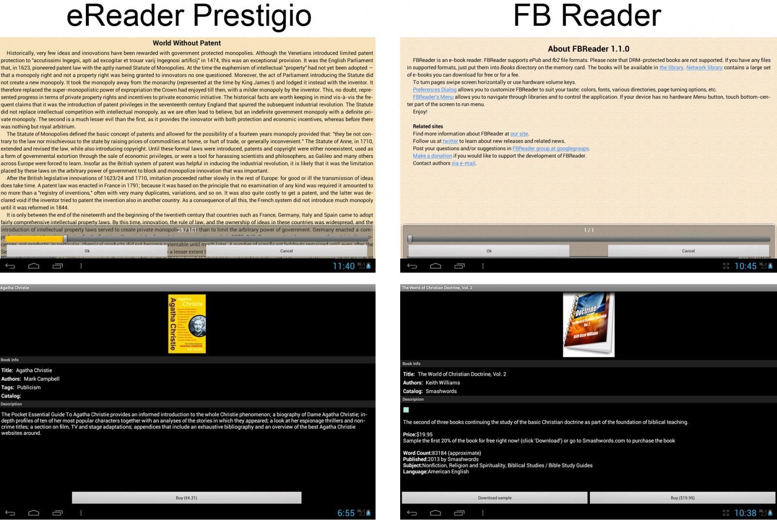 eReader Prestigio: единство и борьба противоположностей одной читалки - 5