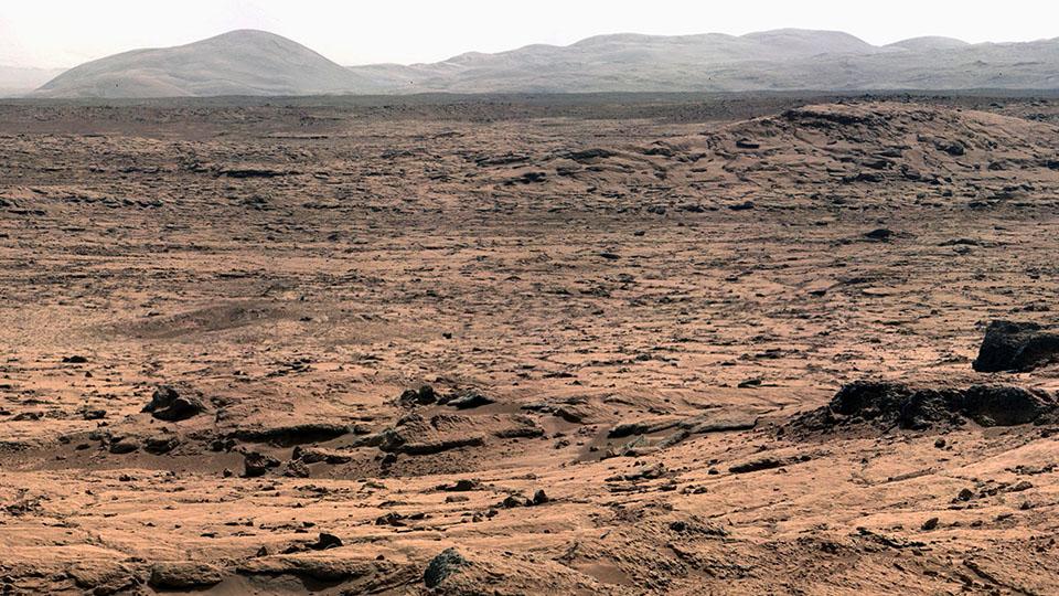 Шикарная панорама Марса от NASA - 1