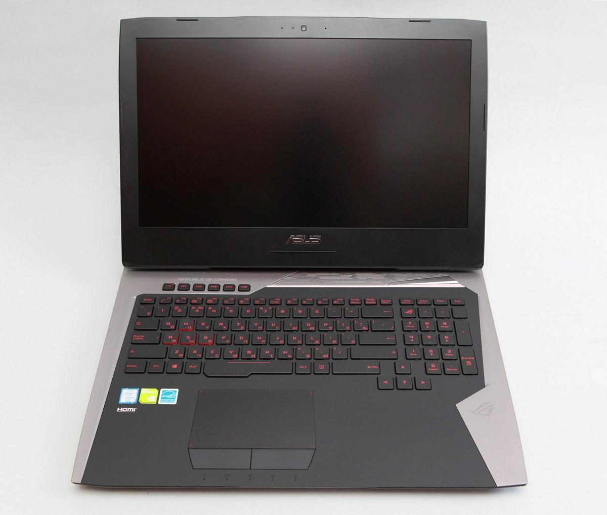 Обзор игрового ноутбука G752VY - 25