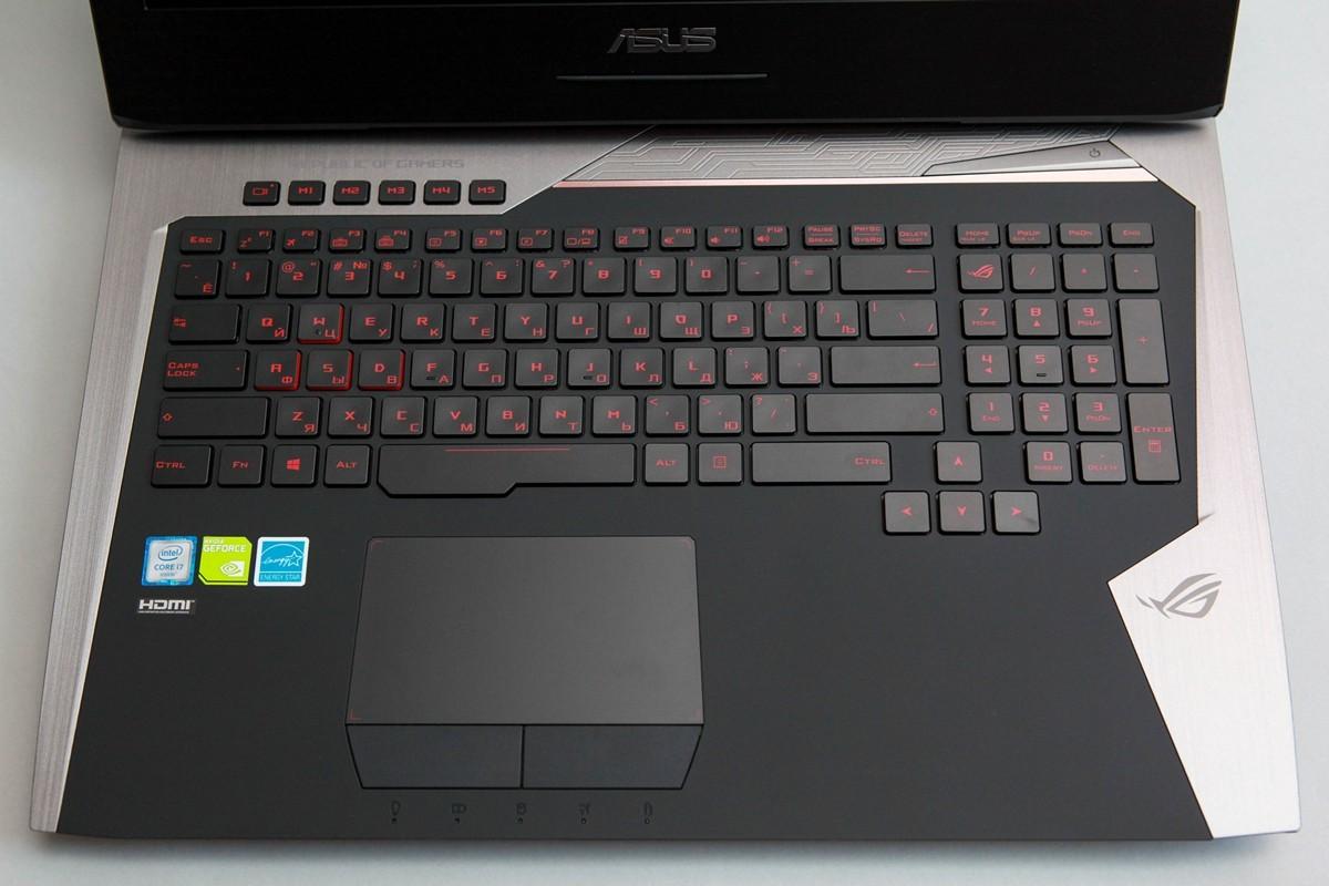 Обзор игрового ноутбука G752VY - 26