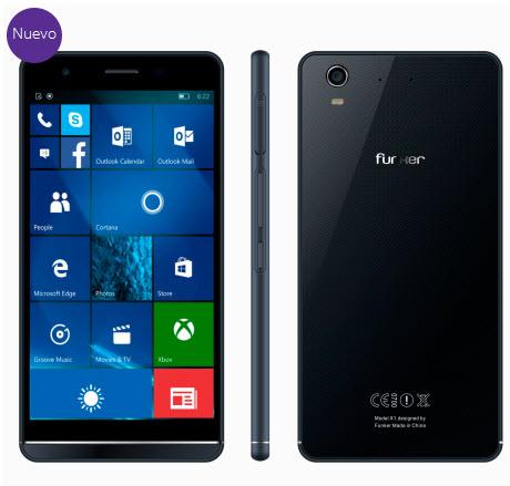 Смартфон Funker W5.5 Pro, работающий под управлением Windows 10, оценен в $260