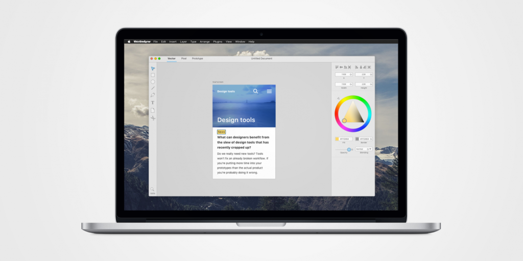 Envisioning the Perfect Design App