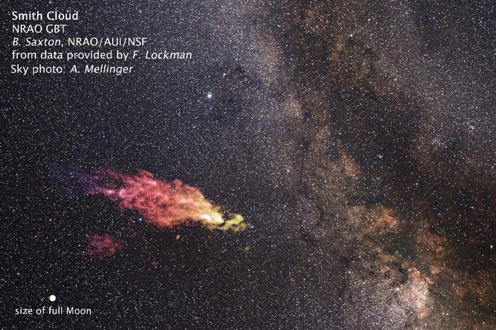 Огромный «бумеранг» из газа возвращается в нашу галактику - 1