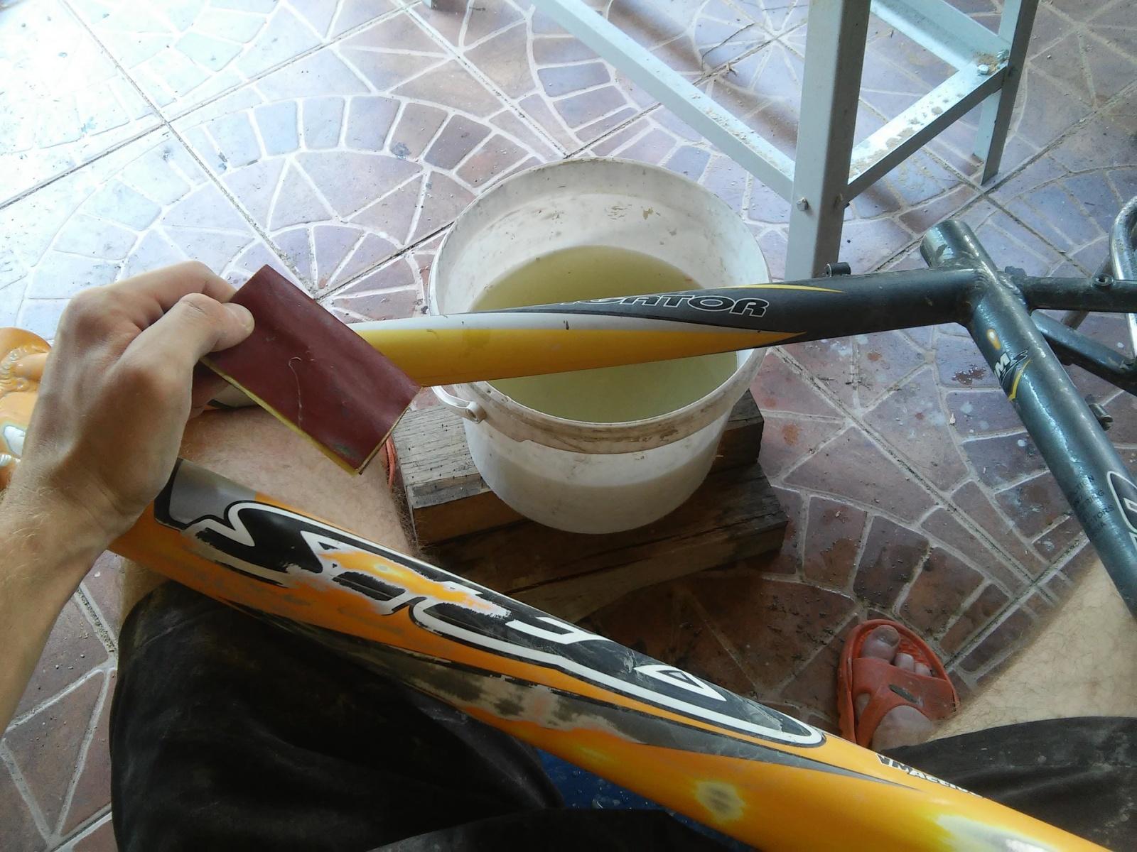 Новая жизнь бюджетного горного велосипеда, превращение в электричку - 11