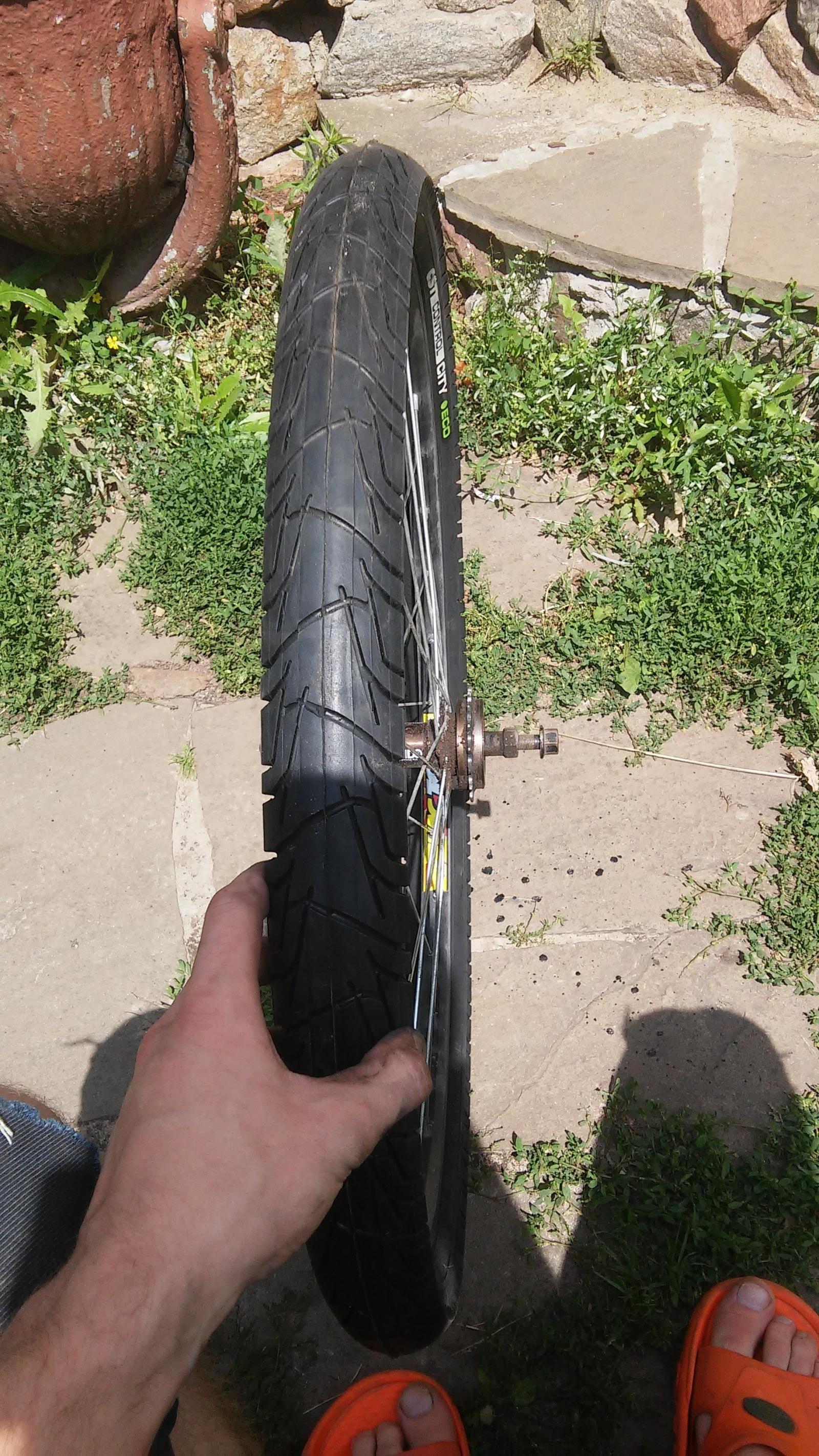 Новая жизнь бюджетного горного велосипеда, превращение в электричку - 16