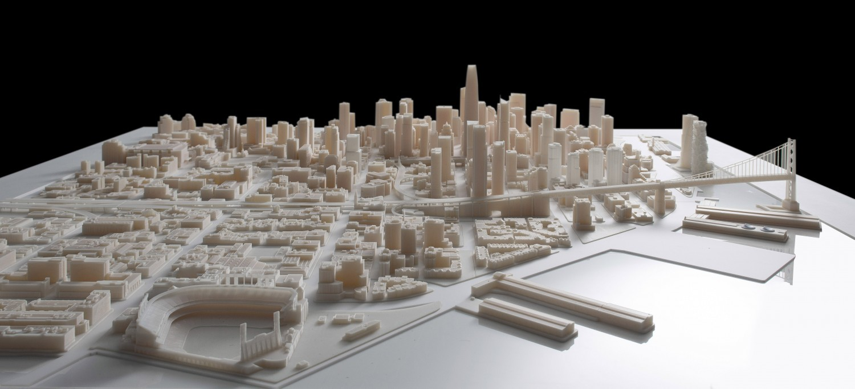 Самая масштабная трёхмерная модель города, распечатанная на 3D-принтере - 1