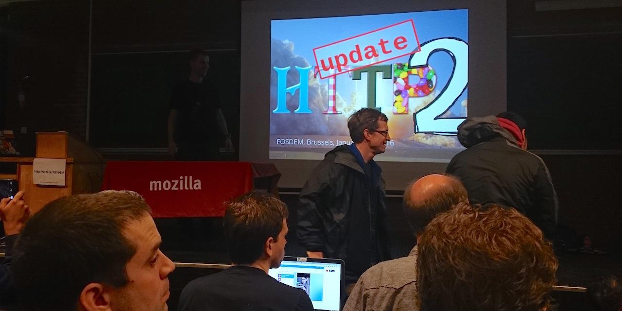 Вафли против технологий на FOSDEM 2016 - 14