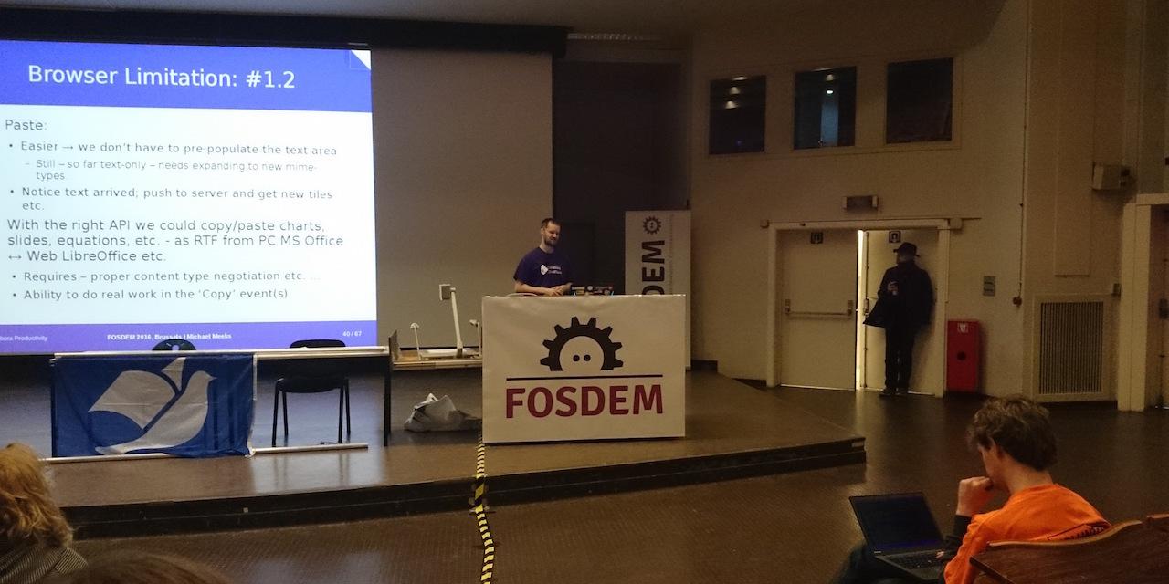 Вафли против технологий на FOSDEM 2016 - 29
