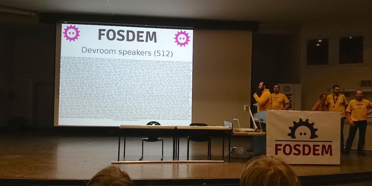 Вафли против технологий на FOSDEM 2016 - 32