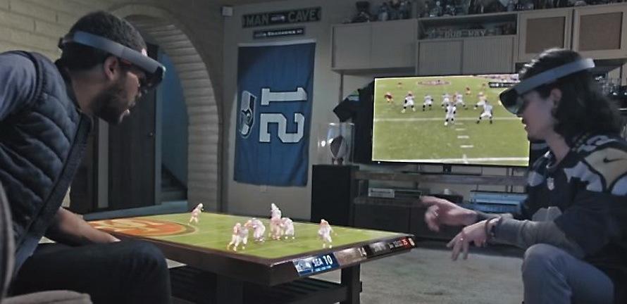 7 февраля Microsoft продемонстрирует возможности HoloLens в финале Super Bowl 50 - 3