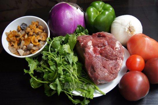 Мясо нужно есть с овощами