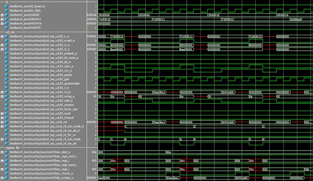 Добавляем инструкции в микропроцессор MIPS, которые работают в конвейере как его собственные - 8
