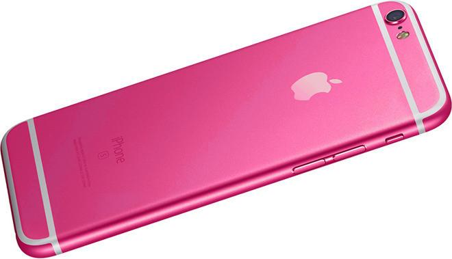 Смартфон iPhone 5se будет доступен в ярко розовом варианте исполнения корпуса