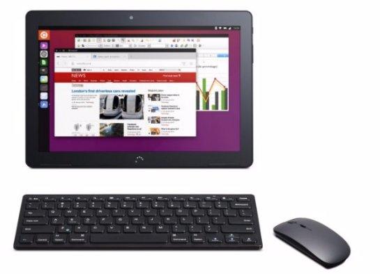 Представлен планшетный компьютер Aquaris M10 Ubuntu Edition