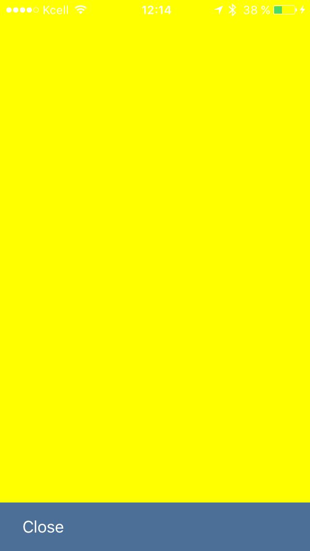 Реализуем свой dropDown ViewController (aka iOS 8 Mail app) в 200 строк - 4