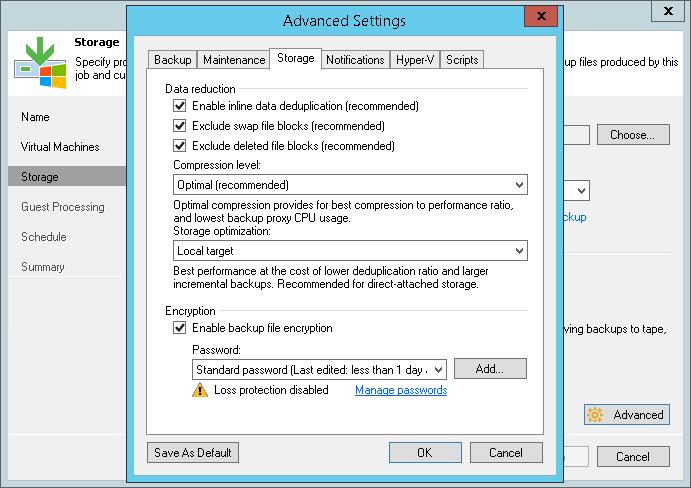 Что нового в Veeam Backup & Replication 9.0: повышаем эффективность создания и хранения резервных копий - 7