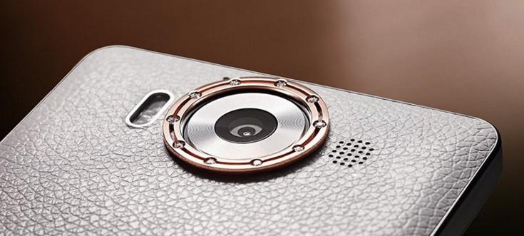 Смартфон Microsoft Lumia 950, украшенный кожей, золотом и бриллиантами, доступен за 1950 евро