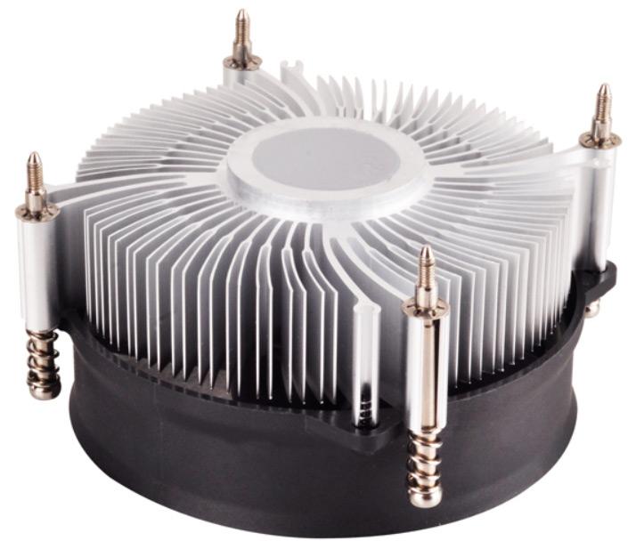 Охладитель Silverstone Nitrogon NT09-115X подходит для процессоров с TDP до 65 Вт