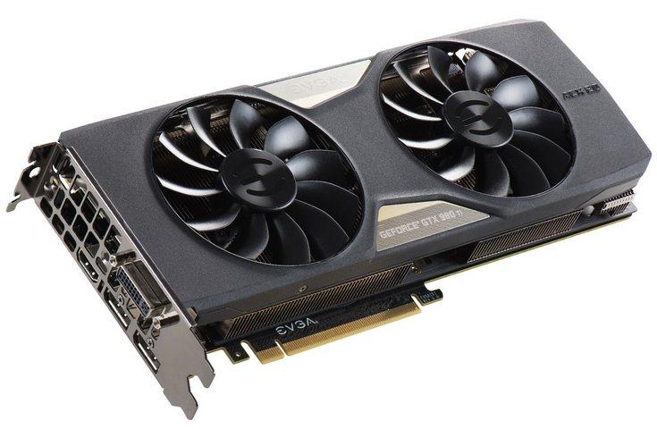 3D-карта EVGA GeForce GTX 980 Ti VR Edition ACX 2.0+ не получила заводского разгона