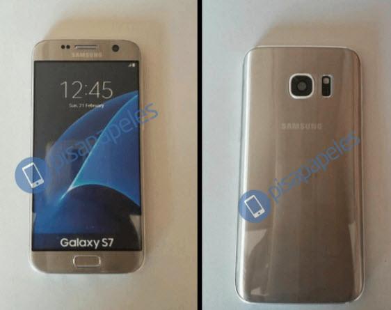 Появились новые изображения смартфонов Samsung Galaxy S7 и Galaxy S7 edge
