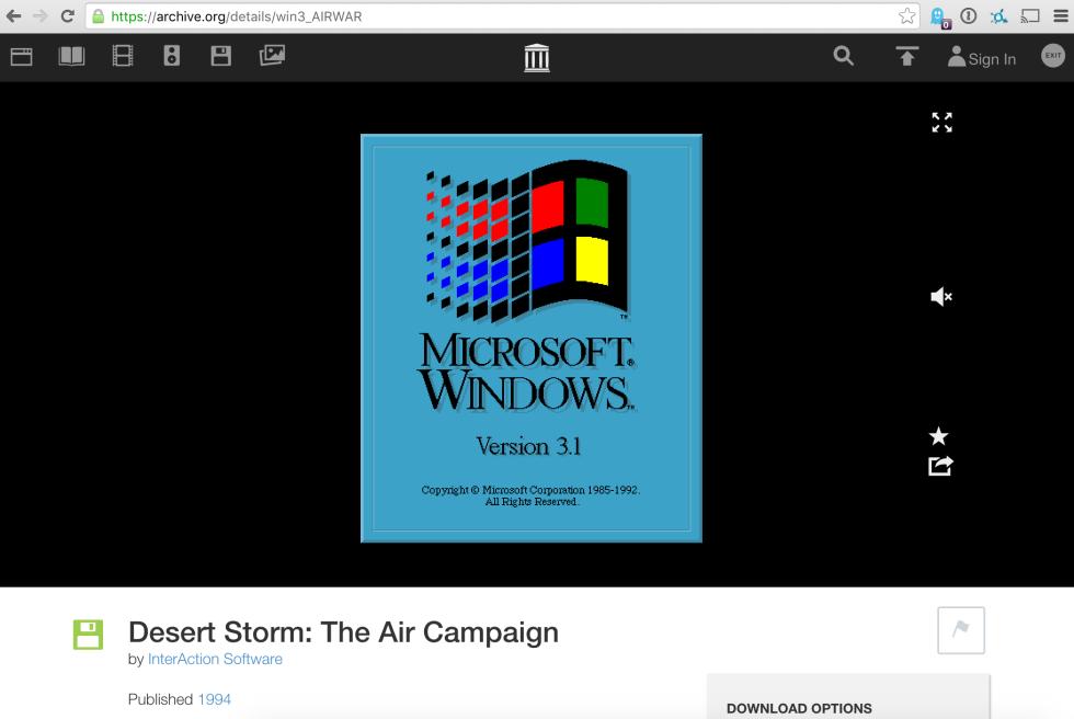 Internet Archive выложил 1500+ программ под Windows 3.1, работать можно прямо в браузере - 1