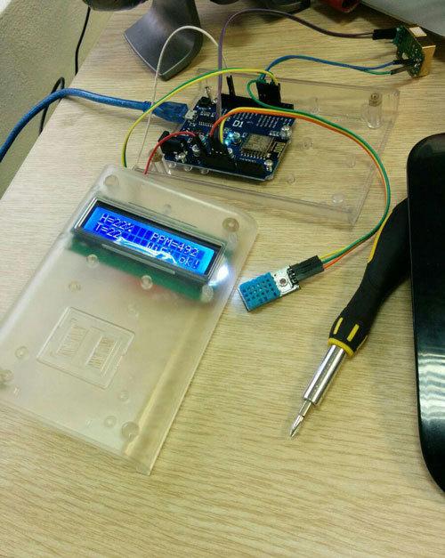 Ещё один способ определения качества воздуха на Arduino — с передачей данных в сеть - 6