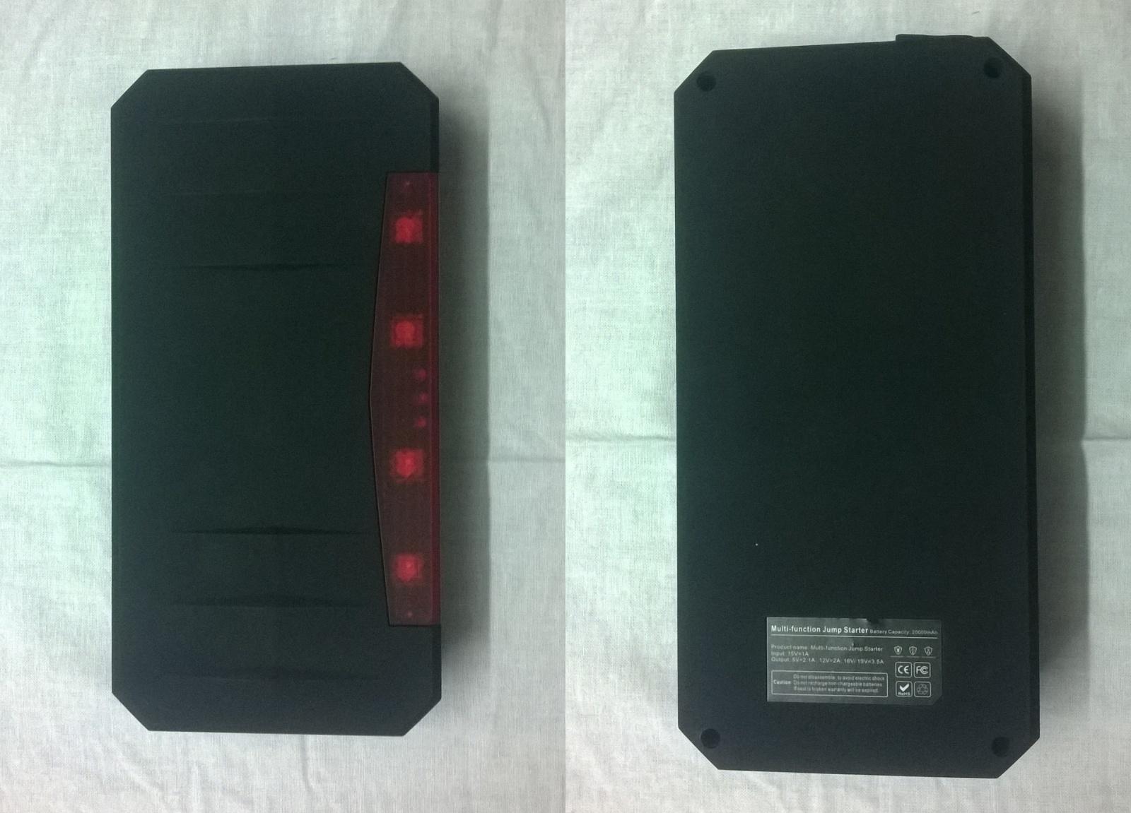 Заряд на любой случай жизни или пусковое устройство V5 Car Jump Starter 21000mah - 6