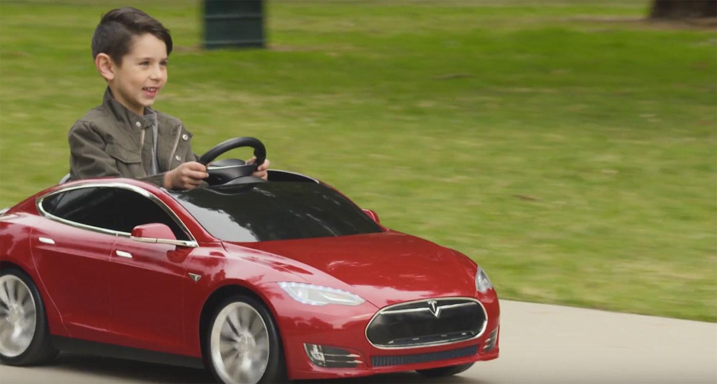 Весной появится Tesla Model S для детей - 1