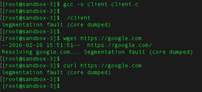 Критическая уязвимость библиотеки glibc позволяет осуществлять удаленное выполнение кода - 1