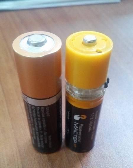 Батарейки с USB - 3