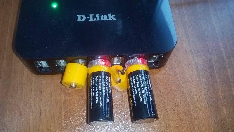 Батарейки с USB - 5