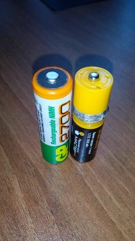 Батарейки с USB - 7