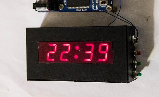 Часы на ПЛИС Lattice - 12
