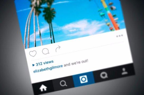 В Instagram появится счетчик видеопросмотров
