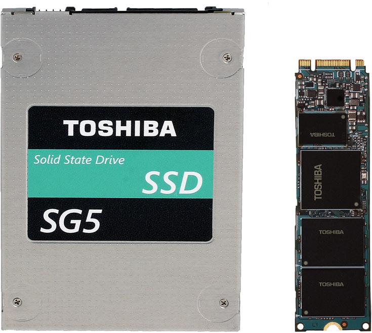 Твердотельные накопители Toshiba SG5