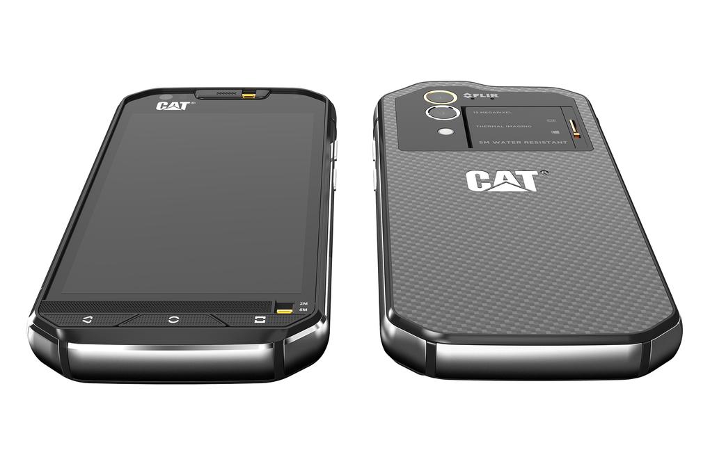 Caterpillar представила смартфон с тепловизором - 6